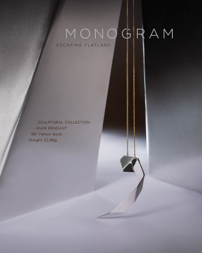 #MONOGRAM #Sculptural #Collection